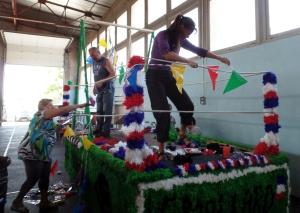 On décore le char pour le corso